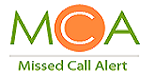 Missed Call Alert Service Logo