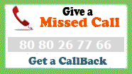 Give a Missed Call and get a Call back